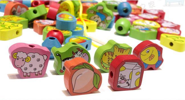 Exempt-postage-wooden-font-b-toys-b-font-font-b-baby-b-font-educational-font-b
